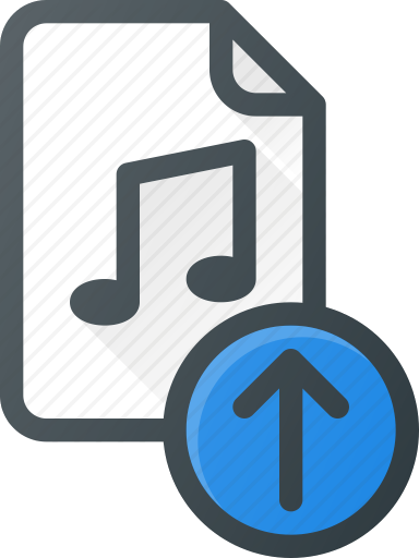 Icon for Music Uploading